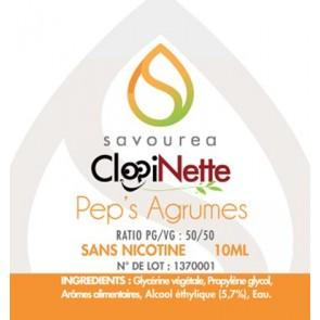 Eliquide Pep's Agrumes Savourea