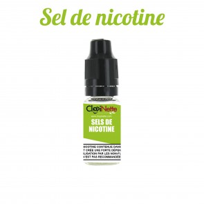BOOSTER SEL DE NICOTINE CLOPINETTE 50/50 20 MG 10ML