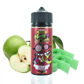 APPLE CANDY 0MG 100ML HORNY FLAVA