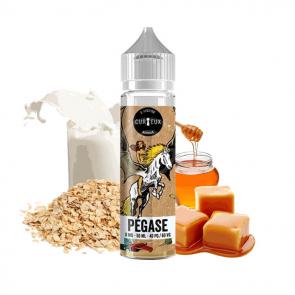 Curieux Pégase Pegase 50ml Grand format Céréales Caramélisées Lait Caramel Miel e-liquide eliquide Gourmand