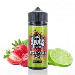 STRAWBERRY LIME 0MG 100ML JUICE DEVILS